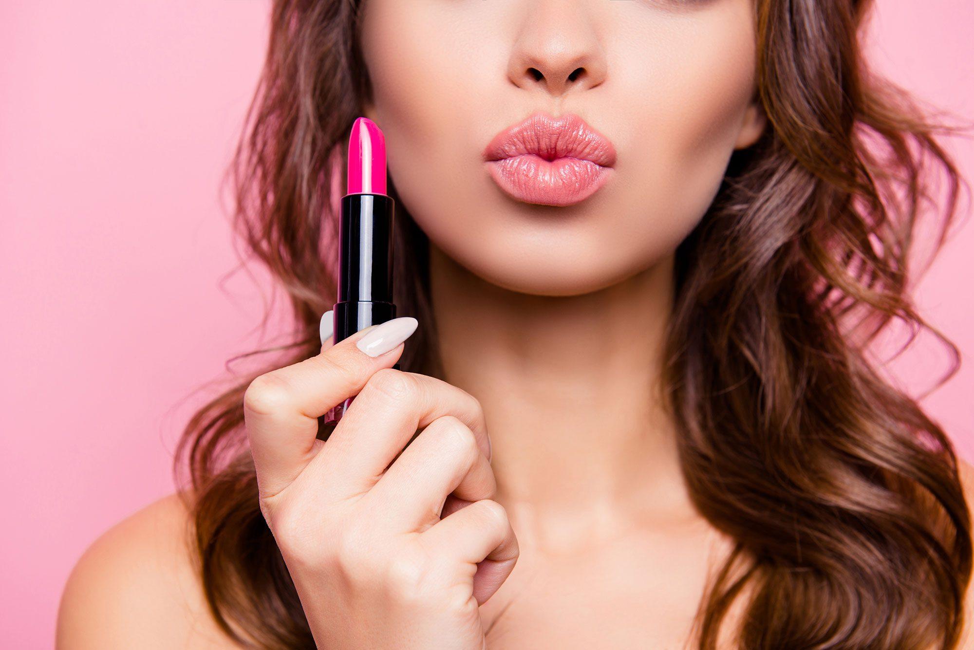 lipsticks and cosmetics